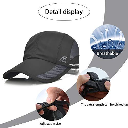 Baseball Cap Casual Simple Hat Men Women Summer Outdoor Uv Protection Sun Visor Quick Dry Cap